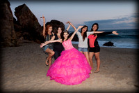 (Destinee) pre session de Quinceanera en Malibu