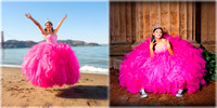 Celia Guestbook Quinceanera profesional photographer in San Francisco