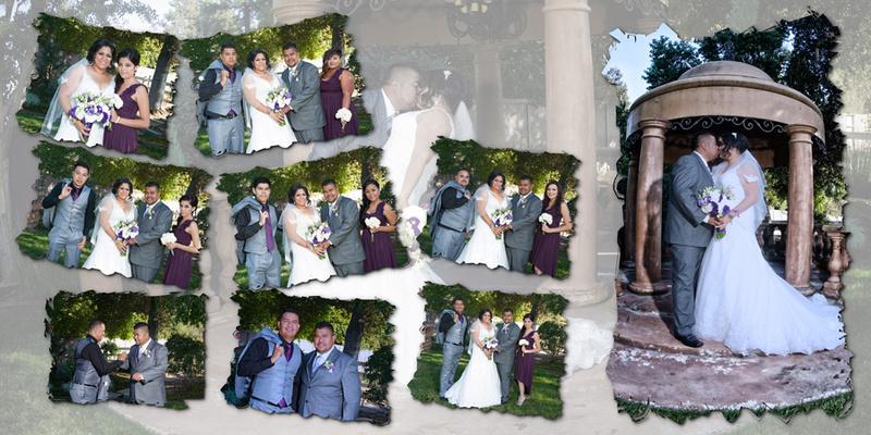 Wedding and Quinceanera photographer in los angeles,san Gabriel Valley,: Francisco&Cynthia Wedding Album digital &emdash; Pagina25&26