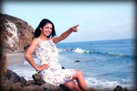 (Marissa-Playa)pre session de Quinceanera en las Playas de Malibu
