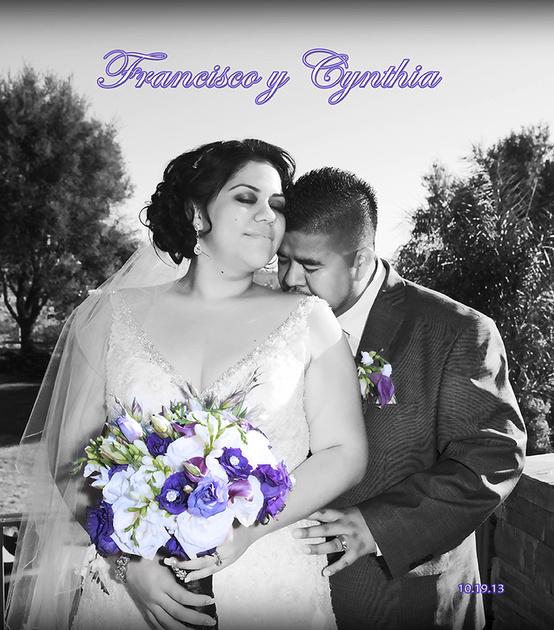 Wedding and Quinceanera photographer in los angeles,san Gabriel Valley,: Francisco&Cynthia Wedding Album digital &emdash; F&C portada 12x12