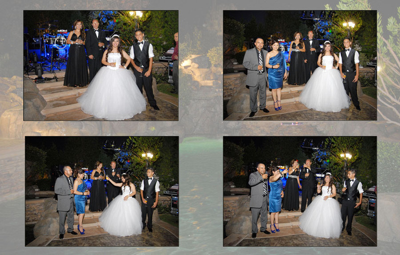 Wedding and Quinceaneras photographer in los angeles,san Gabriel Valley,: Vanessa Album Digital de Quincanera en South Hills &emdash; Pagina33&34