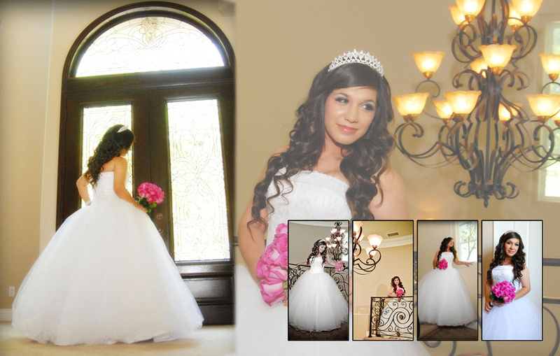 Wedding and Quinceaneras photographer in los angeles,san Gabriel Valley,: Vanessa Album Digital de Quincanera en South Hills &emdash; Pagina5&6