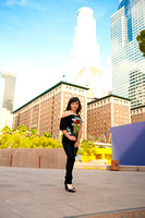 (Jazmynn) Presession fotografica en el Downtown de los Angeles