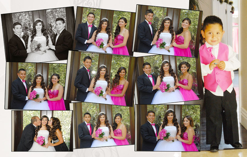 Wedding and Quinceaneras photographer in los angeles,san Gabriel Valley,: Vanessa Album Digital de Quincanera en South Hills &emdash; Pagina11&12
