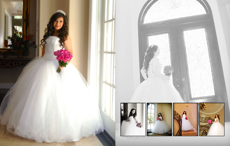 Wedding and Quinceaneras photographer in los angeles,san Gabriel Valley,: Vanessa Album Digital de Quincanera en South Hills &emdash; Pagina7&8