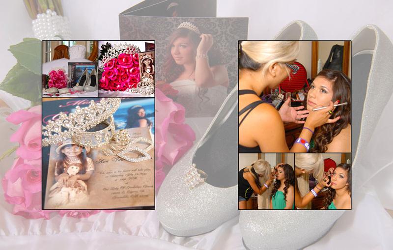 Wedding and Quinceaneras photographer in los angeles,san Gabriel Valley,: Vanessa Album Digital de Quincanera en South Hills &emdash; Pagina1&2